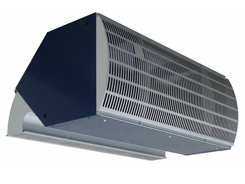 IndAC2 air curtain for optimal industrial climate separation