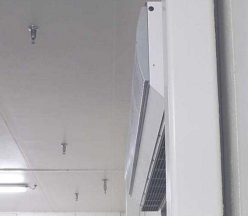 Narrow design IsolAir cold store air curtains