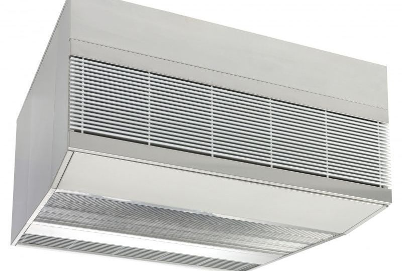 Biddle MAT cold store air curtain