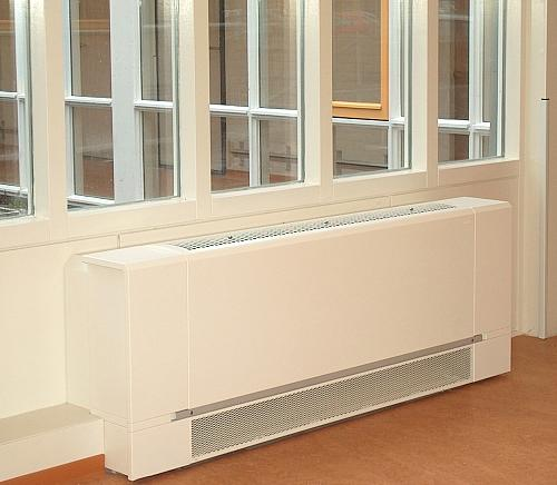 Pleasant heating and cooling for care homes